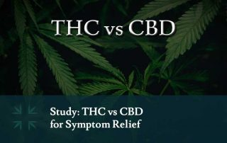 THC vs CBD symptom relief