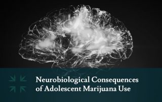 Neurobiological Consequences adolescent marijuana use