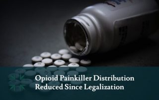 opioid painkiller distribution reduced since legalization