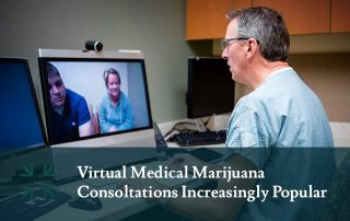 virtual medical marijuana consultation popularity