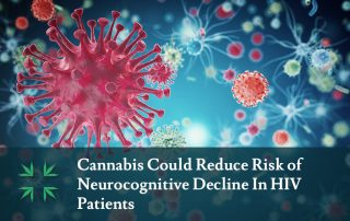 cannabis reduce risk neuroprotective decline hiv patients