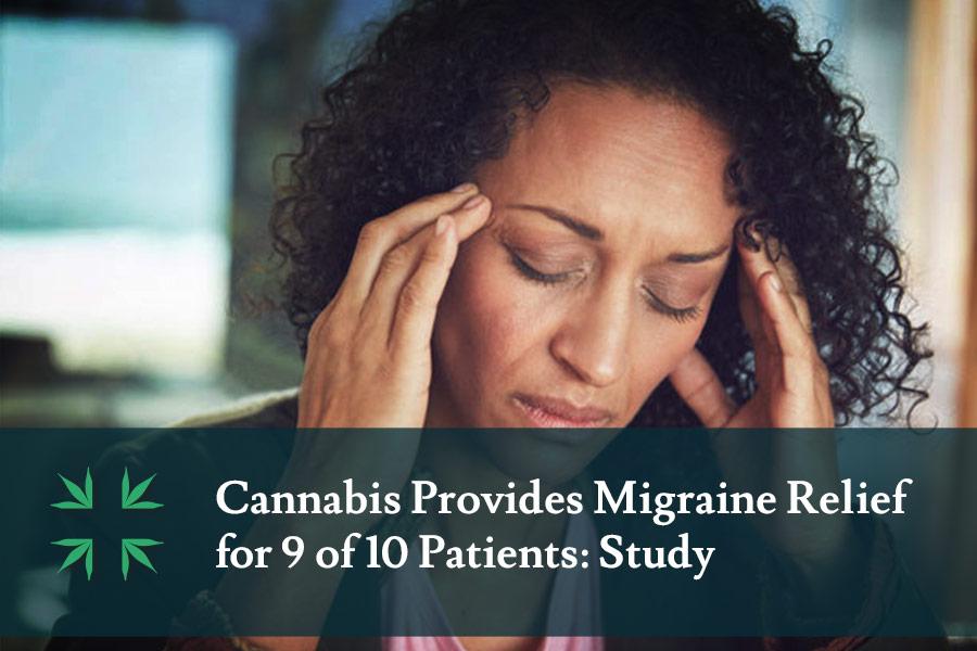 Cannabis Provides Migraine Relief
