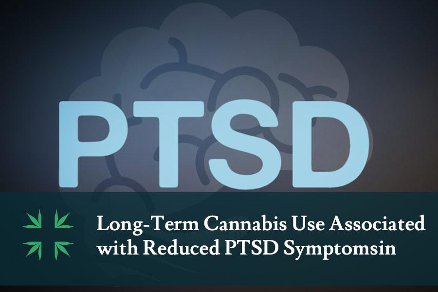 Cannabis reduces symptoms PTSD study